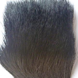 poils chevreuil noir