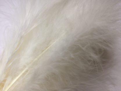 plumes de marabou blanc montage streamer
