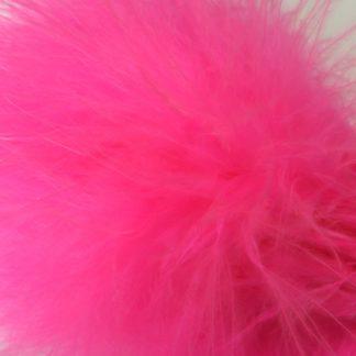 plumes de marabou rose pâle montage streamer