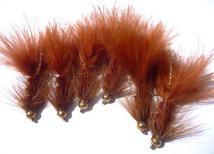 Woolly bugger Brown