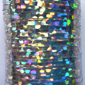 tinsel holographic argent