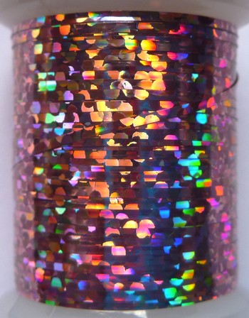 tinsel holographic rose